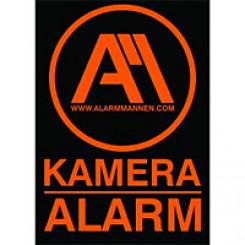 Alarmmannen skilt A5 (15 x 21 cm)