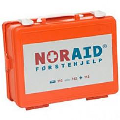 Noraid førstehjelpskoffert - liten m/innhold