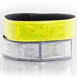 Refleks velcro bånd, gul