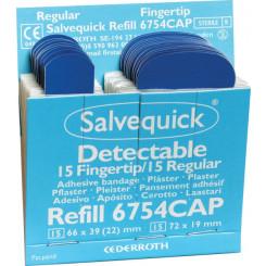 Salvequick plaster fingertupp næringsmiddel 6754CAP