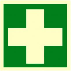 Skilt - Førstehjelpsutstyr symbol