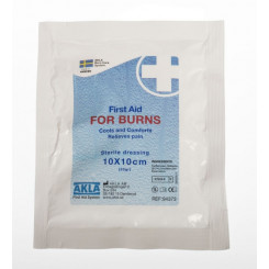 For Burns 10 x 10 cm brannbandasje i folie steril