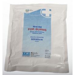 For Burns - ansiktsmaske 40 x 30 cm i folie steril