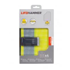 Lifehammer Refleksvest 4 pack